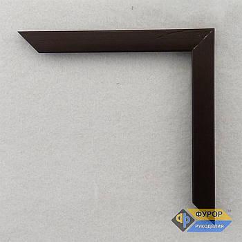 Рамка під замовлення для картини, ікони, фото, вишивки, дзеркала коричнева (ФРЗ-1046)
