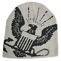 Шапка Eagle Crest Watch Navy Woven LT Grey 80855, КОД: 942161