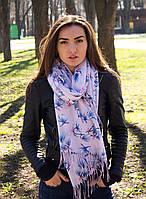 Палантин шарф тонкий осень-весна Есения