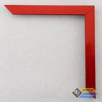 Рамка під замовлення для картини, ікони, фото, вишивки, дзеркала червона (ФРЗ-1048)