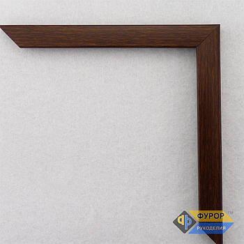Рамка на заказ для картины, иконы, фото, вышивки, зеркала коричневая (ФРЗ-1056)