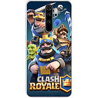 Чехол для Xiaomi Redmi Note 8 Pro с картинкой Clash Royale