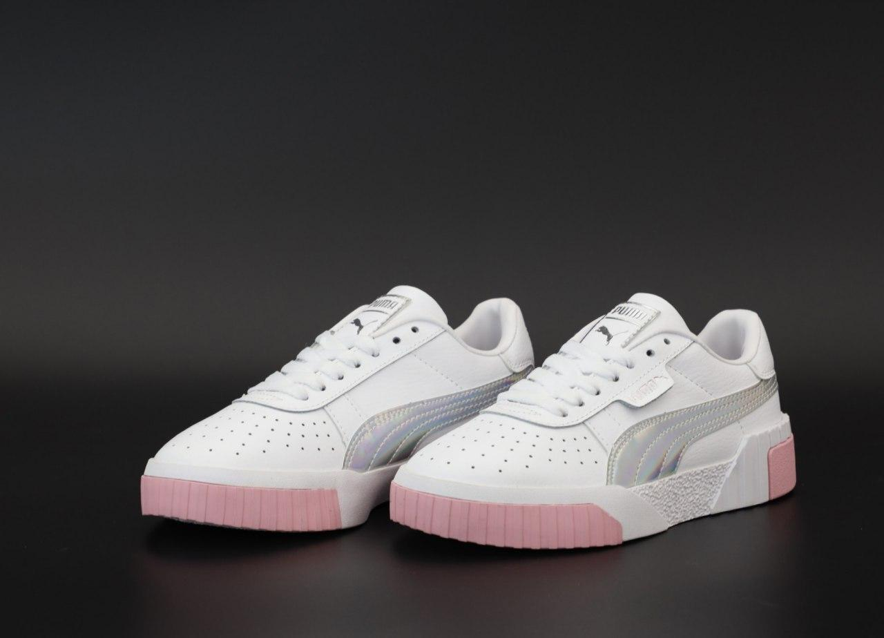 Женские кроссовки Puma Cali 31583 белые