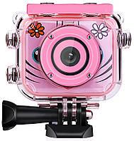 Цифровой фотоаппарат Upix Kids Camera SC08 Pink