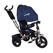Детский трёхколёсный велосипед Crosser T-400 Trinity Синий