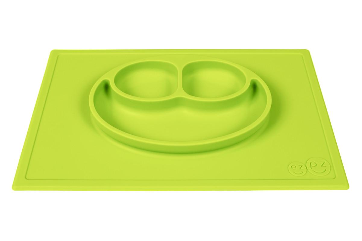 Тарілка-зелений килимок