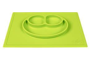 Тарелка-коврик зелёный, фото 2