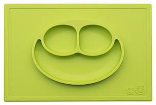 Тарілка-зелений килимок, фото 2