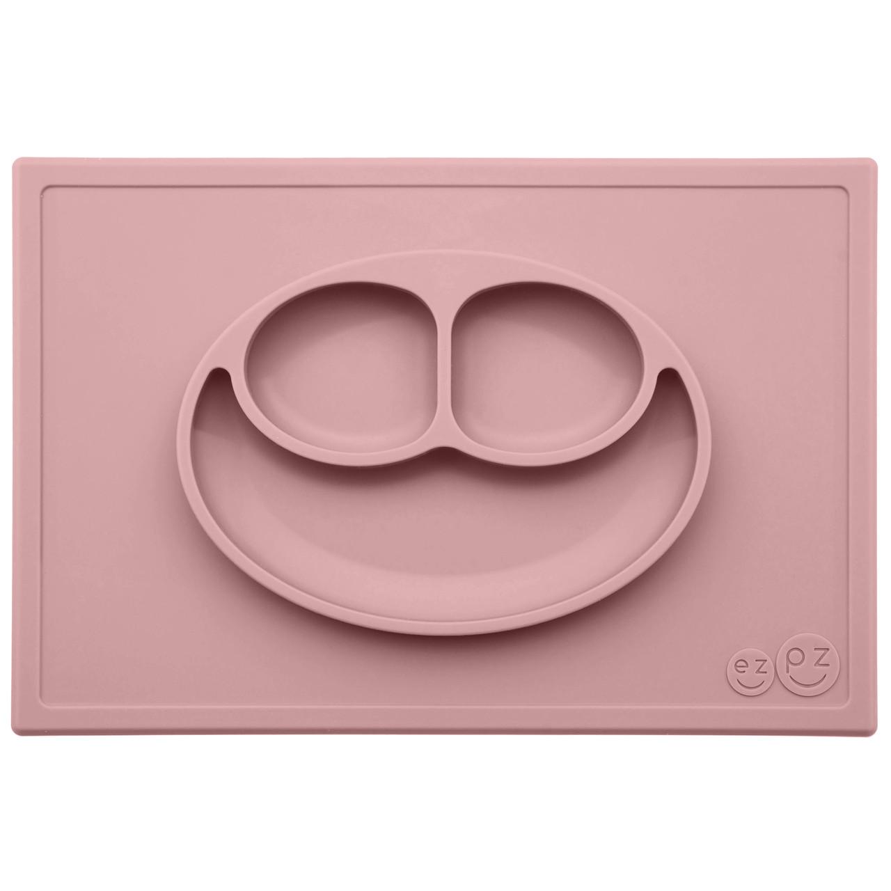 Тарелка-коврик розовий