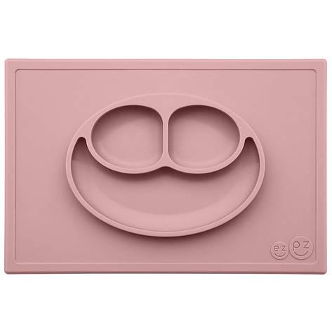 Тарелка-коврик розовий, фото 2