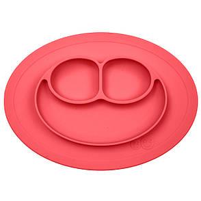 Тарелка-коврик красный, фото 2