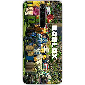 Чехол для Xiaomi Redmi Note 8 Pro с картинкой Игра Roblox