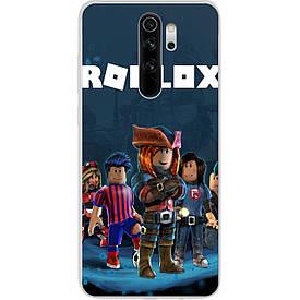 Чехол для Xiaomi Redmi Note 8 Pro с картинкой Игра Roblox Герои