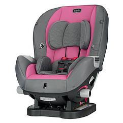Автокресло Evenflo® Triumph Kora pink Серый с розовым 032884193998, КОД: 311552