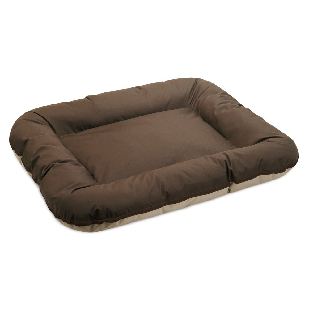 Лежак Pet Fashion Аскольд бежево-коричневый 102х76х14 см (PR241390)