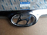 Молдинг хром решетки радиатора Hyundai Elantra JD I30 863522L000, фото 7