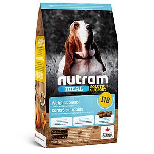 I18 NUTRAM 2kg. Сухой корм для собак склонных к ожирению