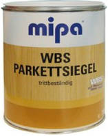 Лак для паркета MIPA WBS Parketsiegel, 10л