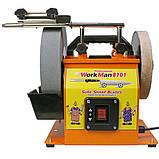 Шлифовально полировальный станок WorkMan 8101, фото 3