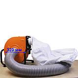 Компактний пересувний стружкоотсос WorkMan DC30A, фото 3
