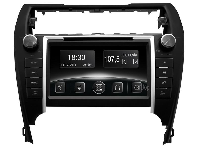 Штатна магнітола для Toyota Camry V50 USA 2012-2015 USA DVD