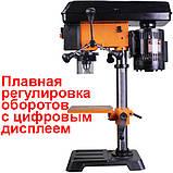 Сверлильный станок WorkMan DP10VL2 с плавной регулировкой скорости, фото 2