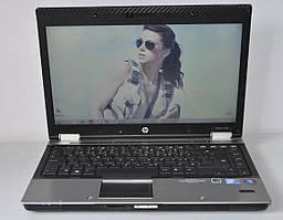 Ноутбук, notebook, HP EliteBook nw8440, Intel Core 2 Duo T7400, 2 ядра по 2,9 ГГц, 2 Гб ОЗУ, HDD 160 Гб