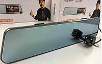 DVR A29 touchscreen HD1080 зеркало с двумя камерами