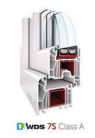 Вікна ВДС WDS 7S шестикамерні енергосберегаючі