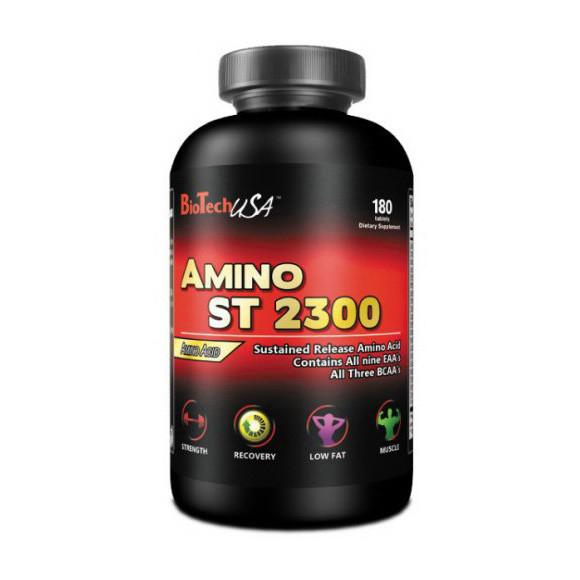 Аминокислоты Amino ST 2300 (180 tabs) BioTech
