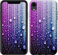 Чехол EndorPhone на iPhone XR Капли воды 3351c-1560, КОД: 1018540