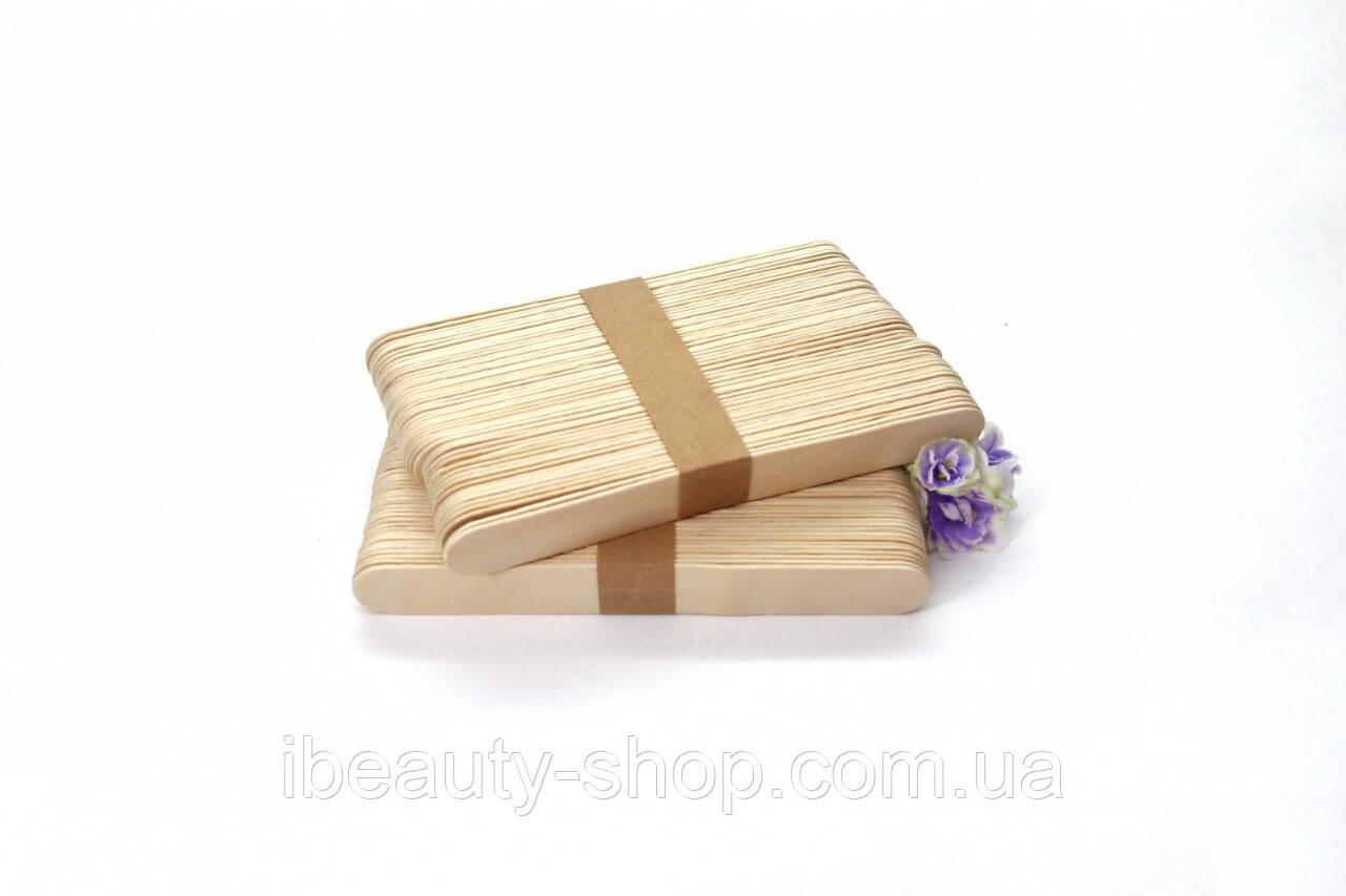 Шпатель деревянный широкий