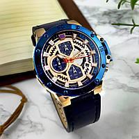 Часы мужские наручные Naviforce NF9159 Blue-Cuprum