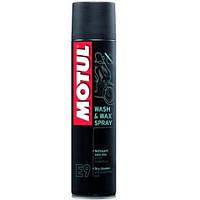 Средство для мытья и полировки мотоциклов (спрей) MOTUL E9 Wash & Wax spray 400мл. 103174/819916