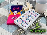 Шоколадный набор Girl Boss (10 шоколадок), фото 1