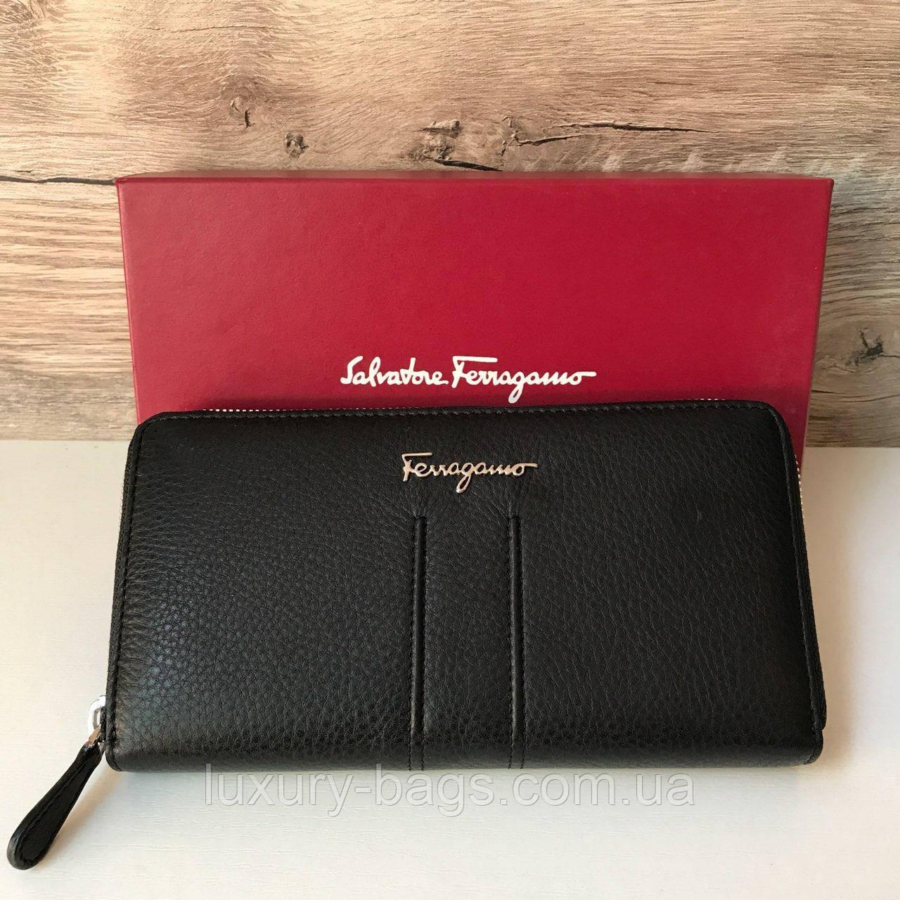 Кожаный женский кошелек Salvatore Ferragamo
