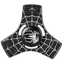 Cпиннер металлический Fidget spinner Паук Черный игрушка антистресс 1610-3529, КОД: 1385165