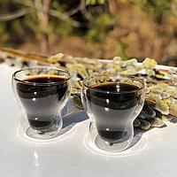 Комплект стаканов с двойным дном Herisson 115 мл 2 ед.