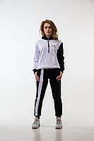 Женский спортивный костюм Spark Inside Xs Черно-белый 000007, КОД: 1558874