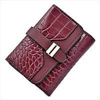 Женский кошелек Le-Mon 1266-darkred Темно-красный, КОД: 1614140