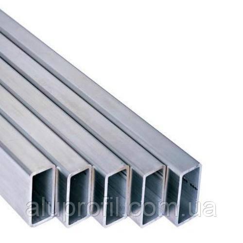 Алюминиевый профиль — труба алюминиевая прямоугольная 50х10х1 AS