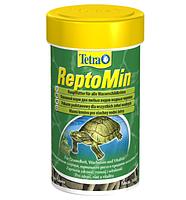 Сухой корм для водоплавающих черепах в гранулах ReptoMin Tetra