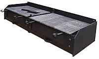 Чугунный мангал, коммерческий для ресторана 1400*420 мм