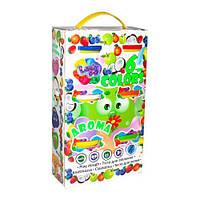 Набор теста для лепки с запахом фруктов Окто Lovindo 6 х 100 г TOY-57120, КОД: 1279403