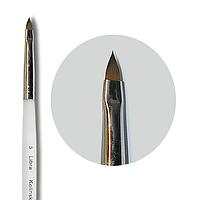 Кисть nailApex Kolinsky язычок 5 для лепки гелем, акрилом 545-255177, КОД: 1372183