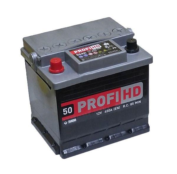 Аккумулятор 6СТ- 50Аз Profi HD