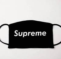 Маска защитная с принтом Supreme