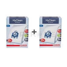 Мішки HyClean GN + фільтри для пилососа Miele