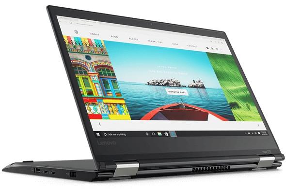 Lenovo ThinkPad Yoga 370 13.3FHD Touch/Intel i5-7200U/8/512F/LTE/W10P/Black