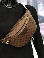 Сумка в стиле Louis Vuitton коричневая